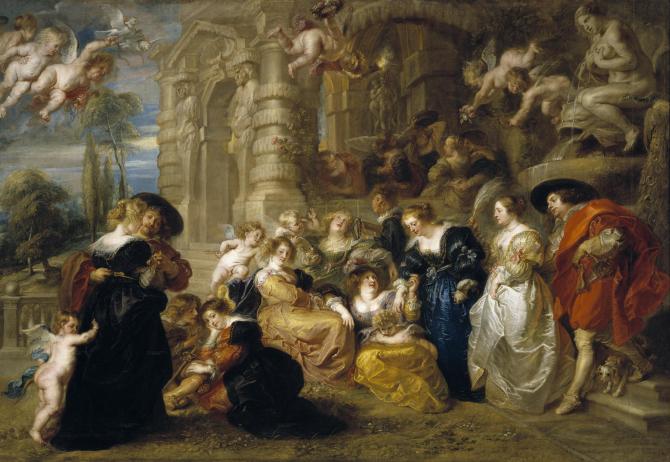 The garden of Love (Rubens)