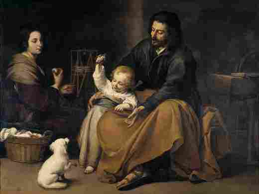 The Holy Family of the Little Bird (Murillo)