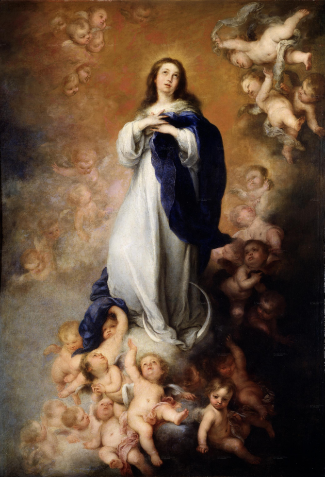 The Immaculate Conception of the Venerable, or Soult (Murillo)