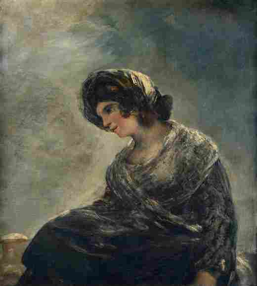 The Milkmaid of Bordeaux (Goya)