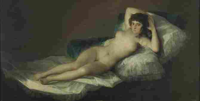The naked Maja (Goya)