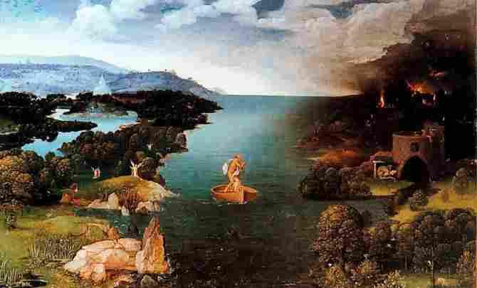The passage of the Styx Lagoon (Joaquim Patinir)