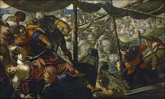 The Rapture of Helena (Tintoretto)