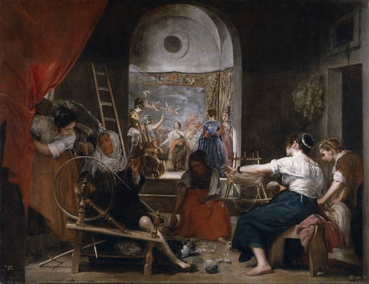 The Spinners (Velázquez)