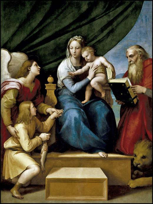 The Virgin of the Fish (Rafael)