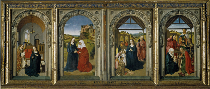 Triptych of the life of the Virgin (Bouts, Dirk)