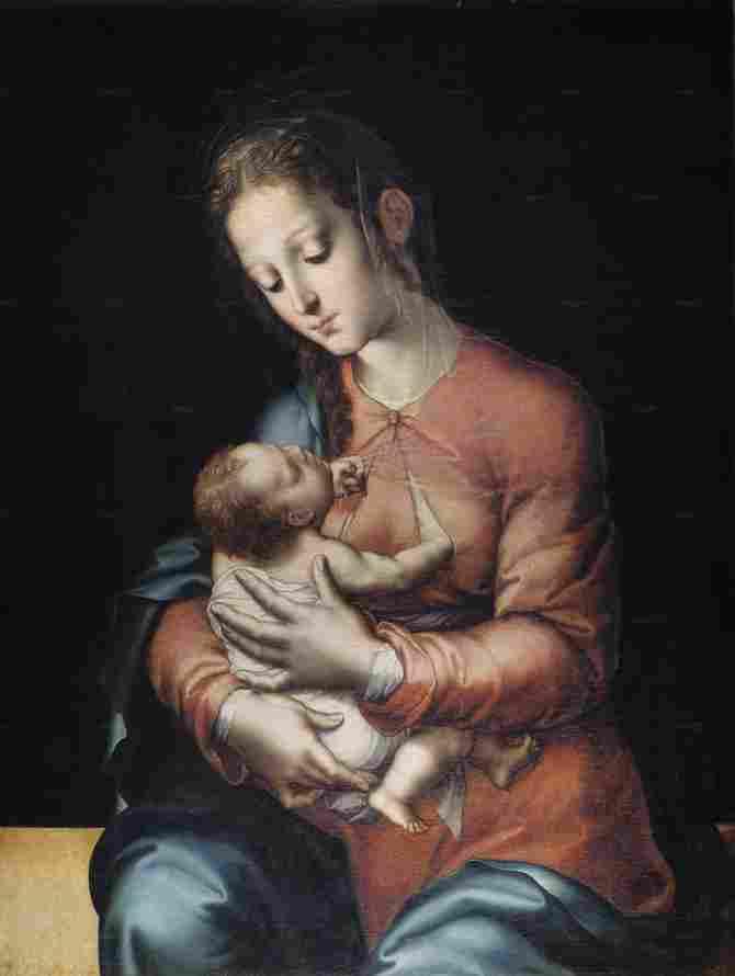 Virgin with the Child (Morales, Luis de)