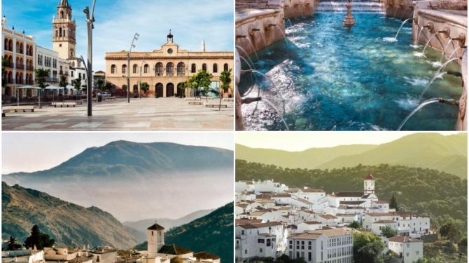 Самые красивые города в Андалусии