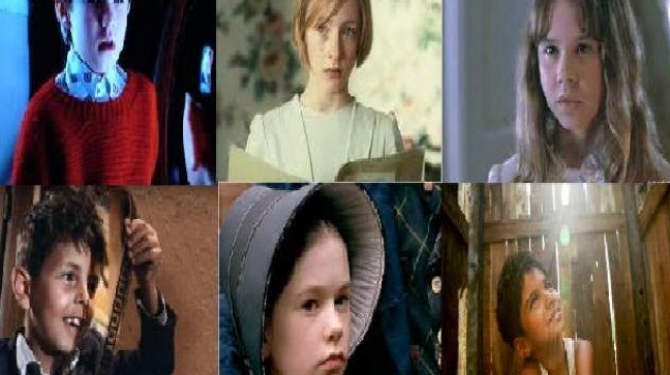The best interpretations of children in the cinema