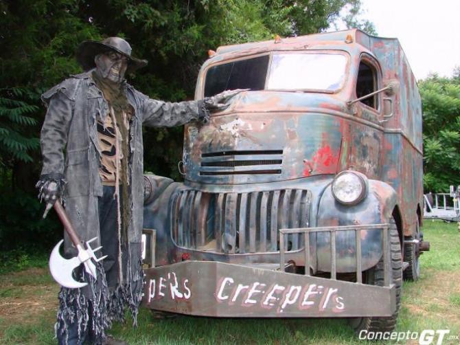 O caminhão Jeepers Creepers