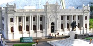 Congress and monument to Simon Bolivar - Peru