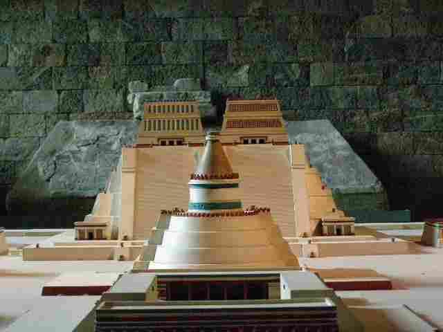Great Tenochtitlan Mexico DF