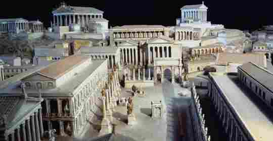 Imperial age Rome