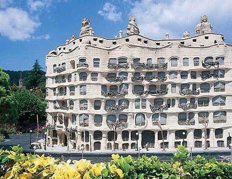 La Pedrera by Gaudí (Barcelona)