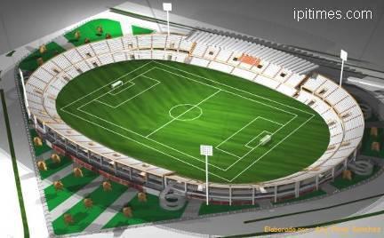 Libertad Stadium of the City of Pasto, Nariño, Colombia.