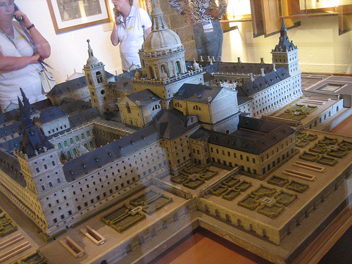 Monastery of El Escorial in Madrid