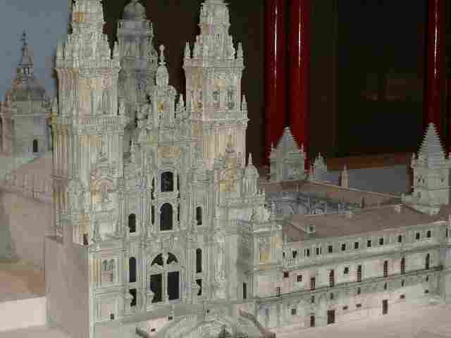 the Cathedral of Santiago of Compostela