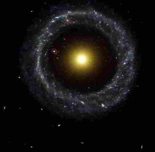 Hoag Object Galaxy