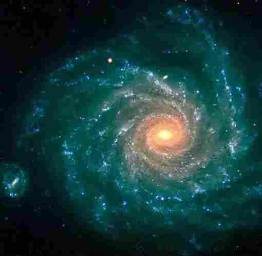 Magnificent Spiral Galaxy