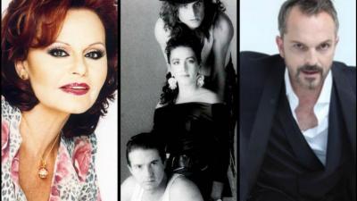 Spanische Sänger, die in Mexiko triumphierten