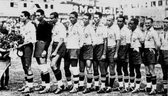 1934: Brasilien 1 - 3 Spanien