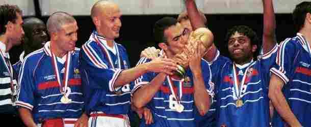 1998, France 3 - 0 Brazil