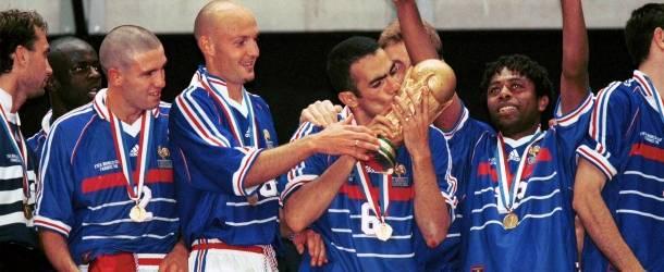 1998, Frankreich 3 - 0 Brasilien