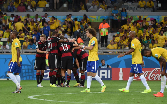 2014: Brazil 1 - 7 Germany