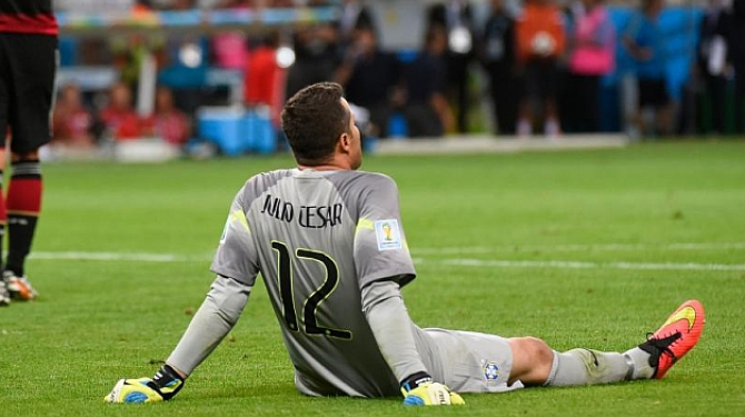 Peores derrotas de Brasil en un Mundial