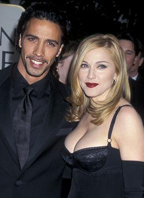 Мадонна и Карлос Леон