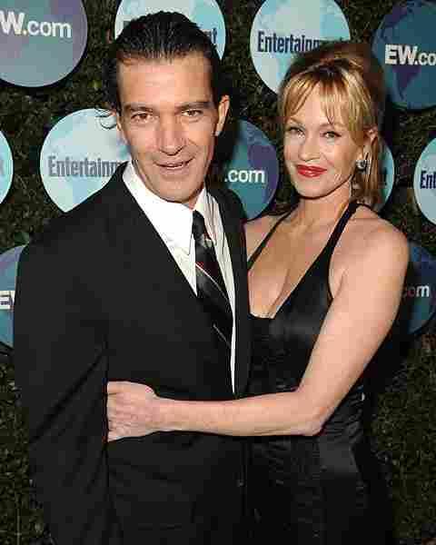 Antonio Banderas en Melanie Griffith