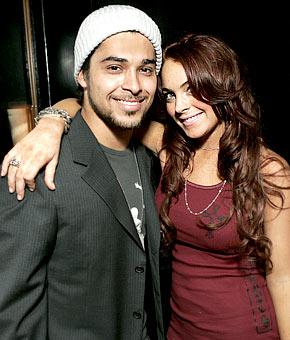 Lindsay Lohan e Wilmer Valderrama