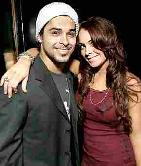 Lindsay Lohan en Wilmer Valderrama