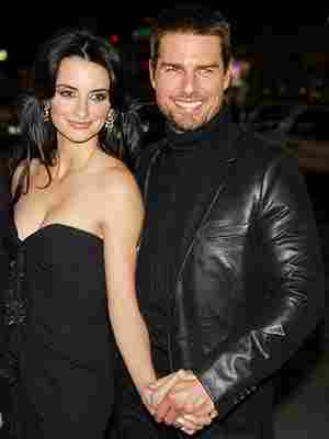 Penelope Cruz and Tom Cruise