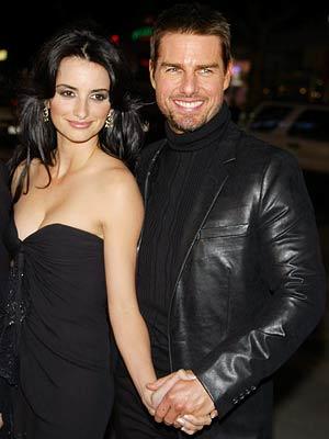 Penelope Cruz en Tom Cruise