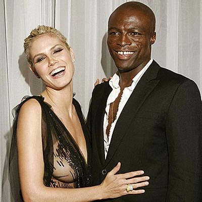 Seal en Heidi Klum