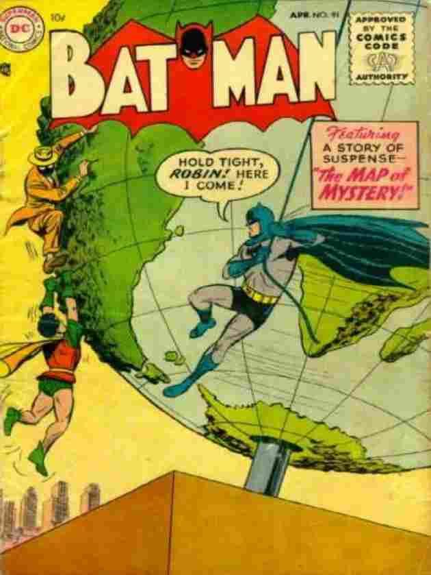 Batman č. 91