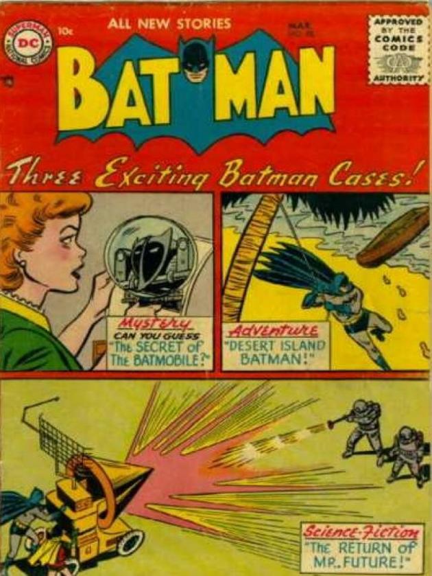Batman č. 98