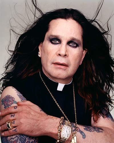 Black Sabbath, Ozzy Ousborne and Kiss were Manson's musical heroes