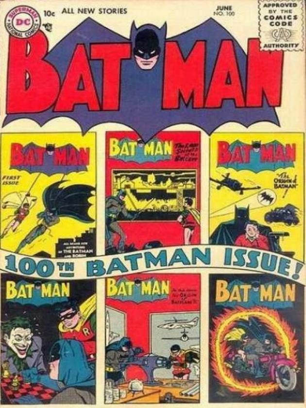 배트맨 No. 100