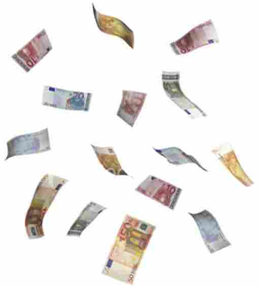 MONEY RAIN IN GERMANY
