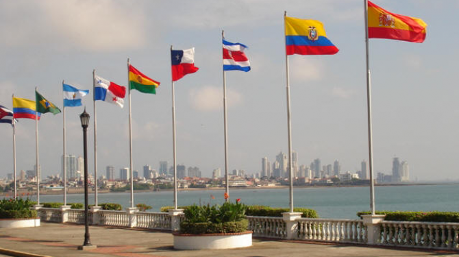 The best flags of Latin America