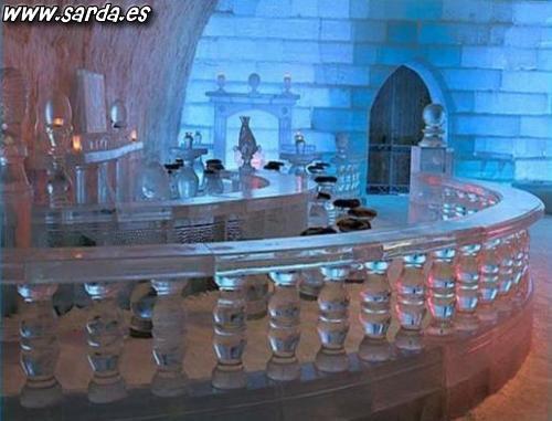 A casa de gelo