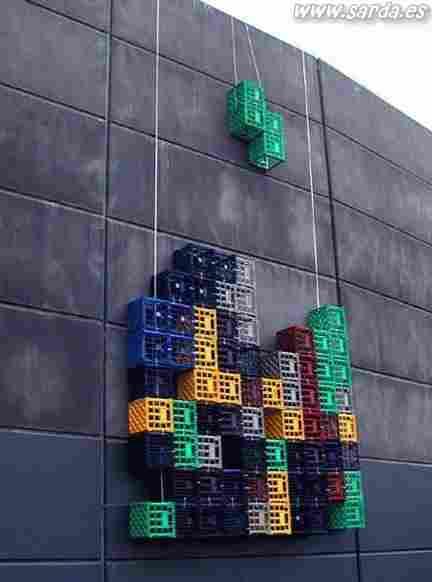 Homemade tetris