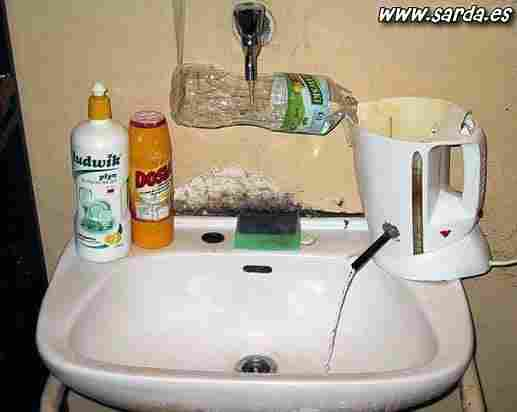 Hot water at home