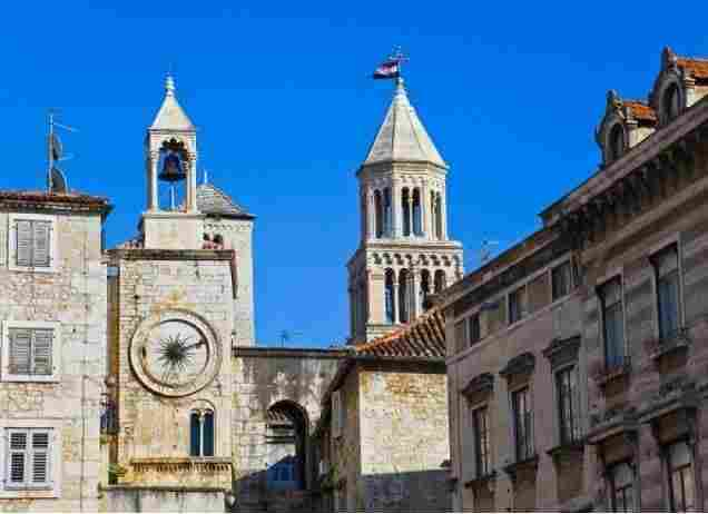 The palace of Diocletian