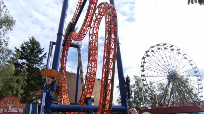 Os melhores parques de diversões da Europa