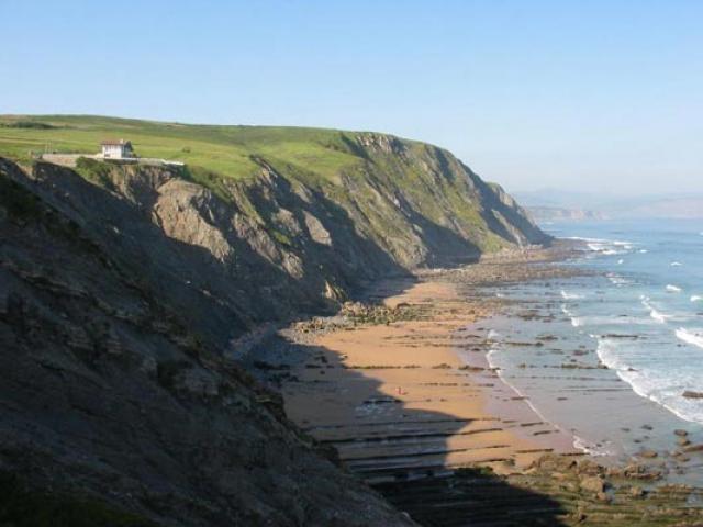 Praia Barrika (Biscaia)