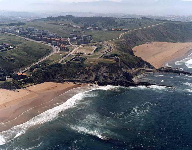 Praia de Arrietara / Atxabiribil de Sopelana (Biscaia)