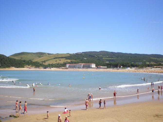 Praia de Gorliz (Biscaia)